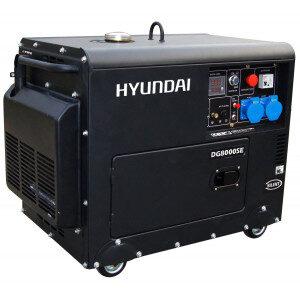 Generador Hyundai DHY8000SE